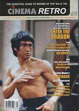 Cinema Retro #35 Bruce Lee Ian Ogilvy Starcrash Keith Hamshere Matte Paintings