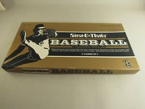 Strat-O-Matic-Baseball-Hall-Of-Fame-Game-Sealed-Cards