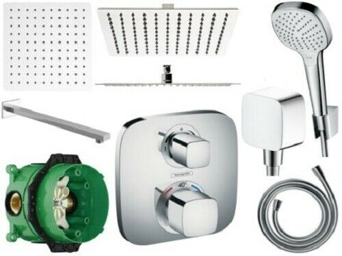 Hansgrohe douche Croma Select E Ecostat E Mitigeur thermostatique concealet Kit