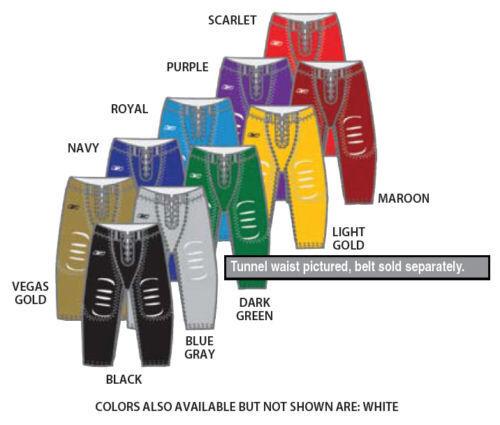 Lot of 25 New Reebok Adult Nylon Spandex Football Pants Many colors A203