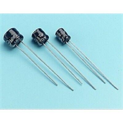 10 X radial condensadores electrolíticos 105Deg microminiatura todos los valores Surtido E5R