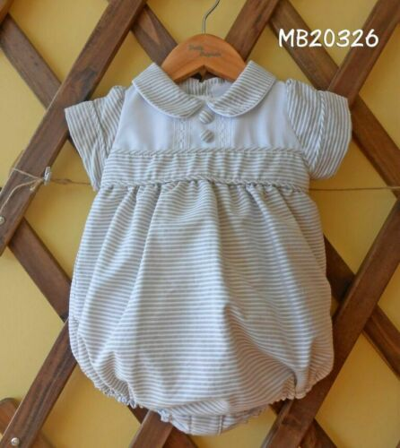 Pretty Originals Boys Special Occasion Rompers /& Shorts Set Christening Romper,