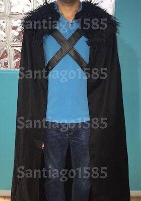 Game of Thrones Jon Snow Nights Watch Cloak