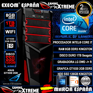 Ordenador-Gaming-Intel-i7-8GB-DDR3-1TB-SSD-120GB-WIFI-GT1030-2GB-de-Sobremesa