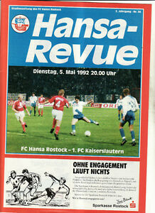 BL-91-92-FC-Hansa-Rostock-1-FC-Kaiserslautern