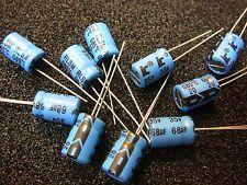 ILLINOIS CAP RLS Aluminum Electrolytic Capacitor 68uF 35V 20% **NEW** 10/PKG