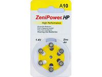 120 Zenipower Hearing Aid Batteries Size 10 Batteries