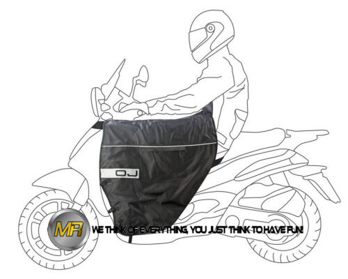FOR MALAGUTI MADISON 125 4T 2004 04 WINTER WATERPROOF LEG COVER TERMOSCUD OJ
