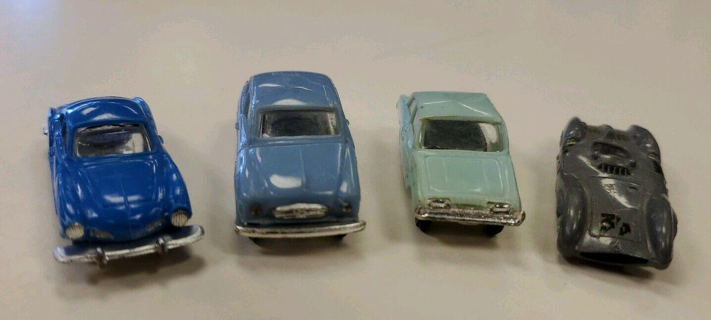 1959 HO Scale Anguplas Mini Cars Made in Spain Ghia, Ford Taunus, Borgward Benz