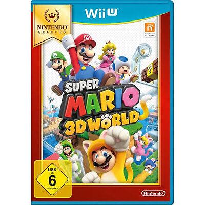 Nintendo Wii U WiiU Spiel ***** Super Mario 3D World ********************NEU*NEW