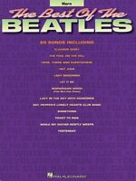 Best Of The Beatles For French Horn Chart Book 000842119