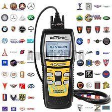 OBD II Auto Code Scanner Automotive Diagnostic Scan Tool Fault Codes Readers TL