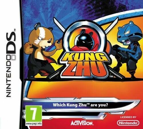 Nintendo DS jeu - Kung Zhu UK dans l'emballage utilisé