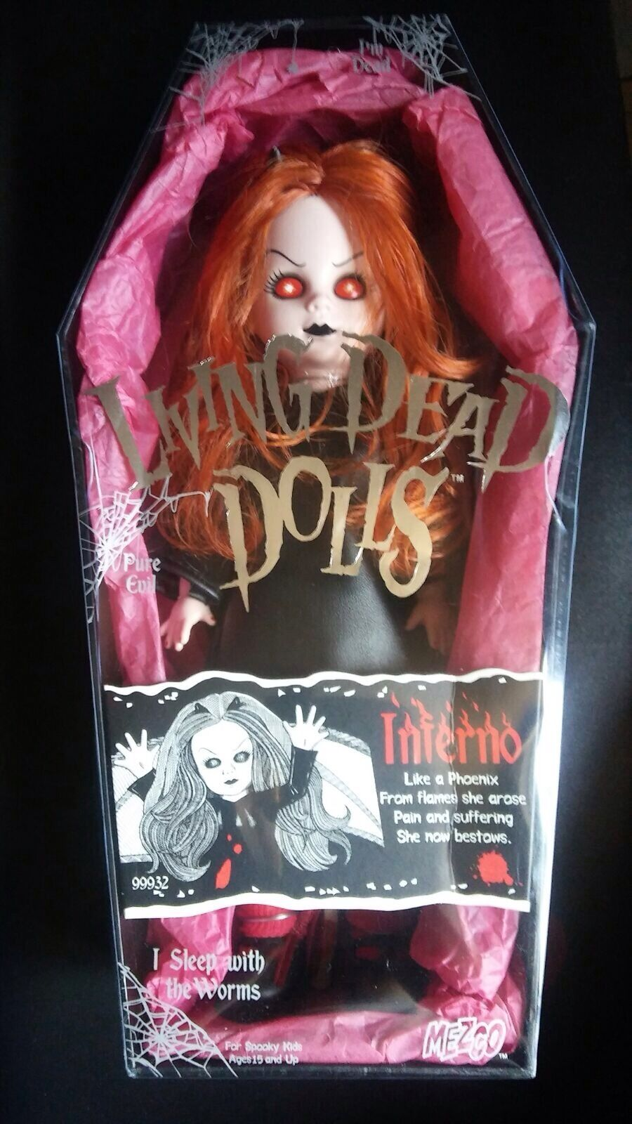 LIVING DEAD DOLLS INFERNO SERIES 4 RARE OPEN NEW