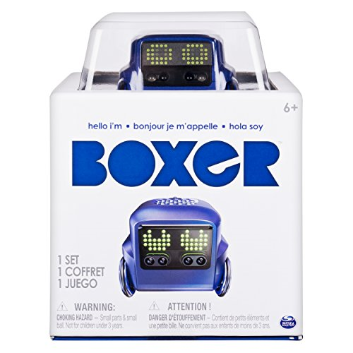 Boxer 6045394 Interactive A.I. Robot Robot Robot Toy bluee with Personality and Emotions, for 320228