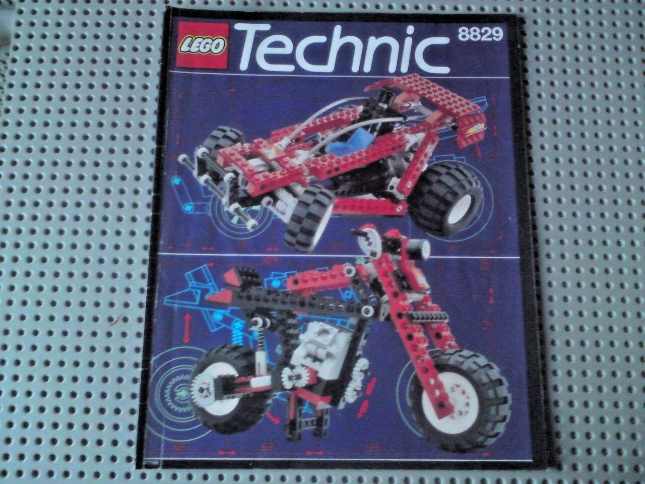 Lego Set 8829 Technic: Dune Blaster, Complete + Manual + Box
