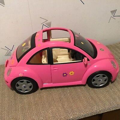 Barbie Vw Volkswagen Beetle Bug Pink