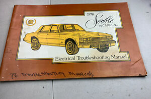 1978 Cadillac Seville Electrical Wiring Diagram ...