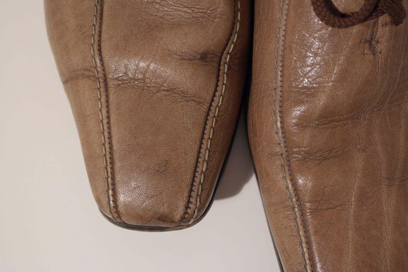 True Vintage 70er uomo lacci Scarpe Lace Up Marronee Marronee Marronee Scarpe Basse Loafer | In vendita  | Maschio/Ragazze Scarpa  f4c641