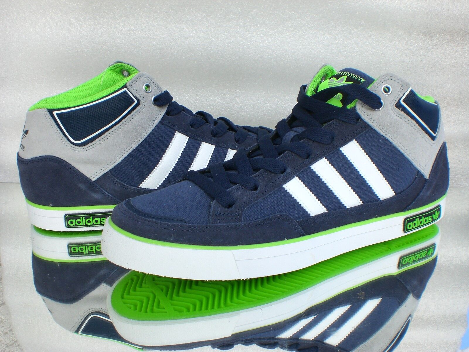 Adidas vc1000 originals men& 039;s dark bluee G 33586 laufschuhesneaker leather textile