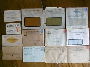 . 9 ENVELOPPES ANCIENNES RADIO TSF. + DIVERS XVefxWlS-09084808-663887169