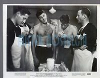Vintage photo 1952 Jerry Lewis Dean Martin bare chested in SAILOR BEWARE
