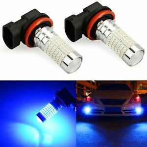 NEW 2x 9006 HB4 6500K White 99-SMD High Power Car LED Fog Light Driving Bulb Kit