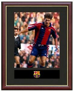 Michael-Laudrup-Mounted-Framed-amp-Glazed-Memorabilia-Gift-Football-Soccer