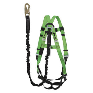 Peakworks-Universal-5-Point-Full-Body-Harness-with-Lanyard-Kit