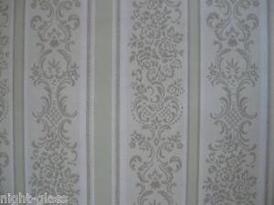 1 Rouleau De Papier Peint Ancien Tapisserie Murale/vintage Roll Wallpaper/n°343