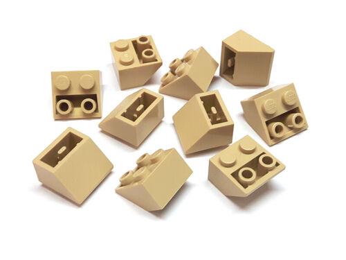 4118866 Lego Schrägstein 2 x 2 45° invertiert Beige 10 Stück Neu