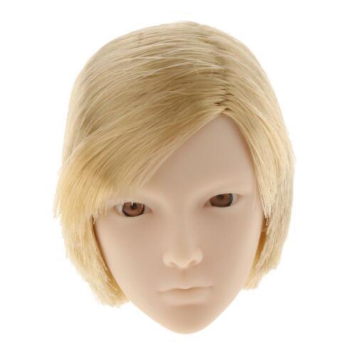 1//6 Scale Head Sculpt Kurzes Haar für 12 Zoll männliche Hot Toys Actionfigur