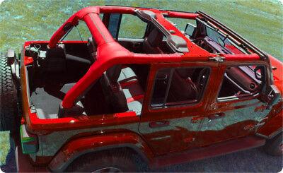 18-20 Jeep Wrangler JL Sahara Sport Rubicon Roll Bar KATZKIN 7 Pc Vinyl Set  4dr | eBay