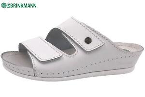 Dr. Brinkmann 703790, Damen Pantoletten, Weiß (Weiß), 36 EU