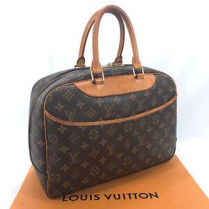 LOUIS-VUITTON-Handbag-M47270-Deauville-Monogram-canvas-Leather-Women