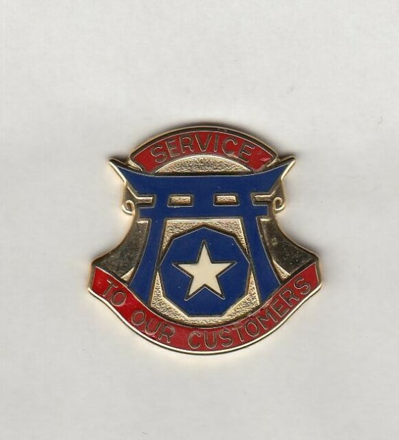 US Army I CORPS COMMAND OBSOLETE crest DUI badge cb clutchback G-23