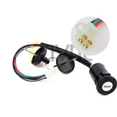 Ignition Key Switch 50cc 70cc 90cc 110 125cc 150 250cc ATV Quad 4 Wheeler Taotao