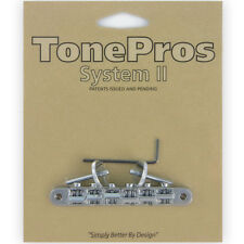 NEW TonePros AVR2-C Tuneomatic Bridge Locking for Gibson Les Paul ABR-1  CHROME