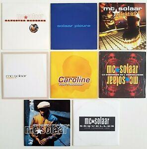 MC-SOLAAR-Lot-7-x-CD-Single-Album-inclus-PROMO-Caroline-sequelles