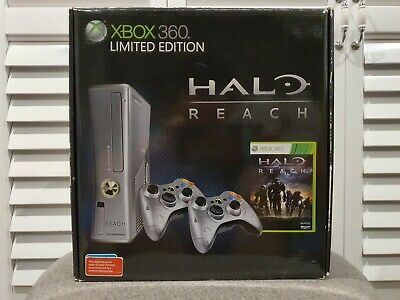 Microsoft XBOX 360S 250GB Halo Reach Limited Edition ...