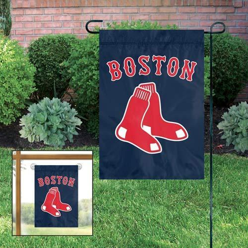 Boston Red Sox Garden//Window Flag