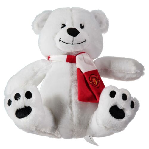 Manchester United Natale Orso Polare giocattolo morbido CALCIO SPORT