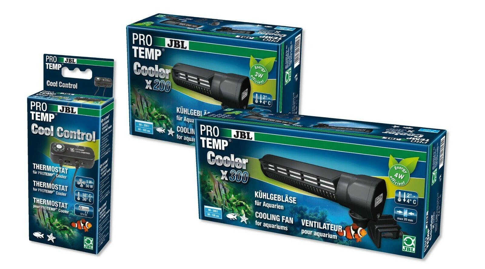 JBL ProTemp Cooler X 200 300 Aquarium Fan Cooler  ller CoolControl Thermostat