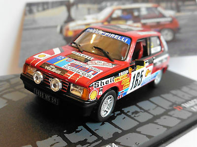 Pauwels 1:43 Altaya Talbot Samba Rallye #165 Rallye Monte Carlo 1984 Delecour
