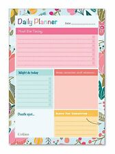 Collins Enchanted Daily Desk Planner - To Do List - A5 - 60 Page - DPDA5-02