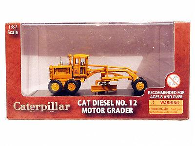 Caterpillar HO Scale Diecast Metal Motor Grader Vehicles Model Toy 85520 CAR Van