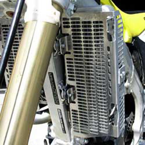 DEVOL ALUMINUM RADIATOR GUARD Fits Yamaha YZ125,YZ250