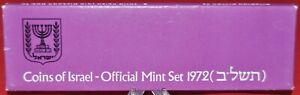 Coins-of-Israel-Official-Mint-Set-1972-Special-Mint-Marked