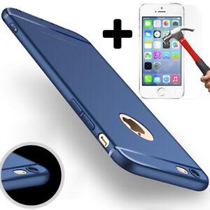Coque-Housse-Hybride-iPhone-8-7-6-6S-PLUS-X-XR-XS-Max-5-SE-Film-Verre-Trempe