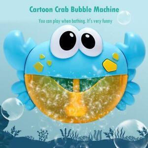 12-Lieder-Musical-Krabbe-Bubble-Automated-Tuelle-Maschine-Blaeser-Bad-Kinder-Toy